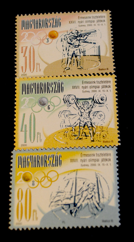 #3730-3732 Hungary - 2000 Summer Olympics, Sydney, Set of 3 (MNH)