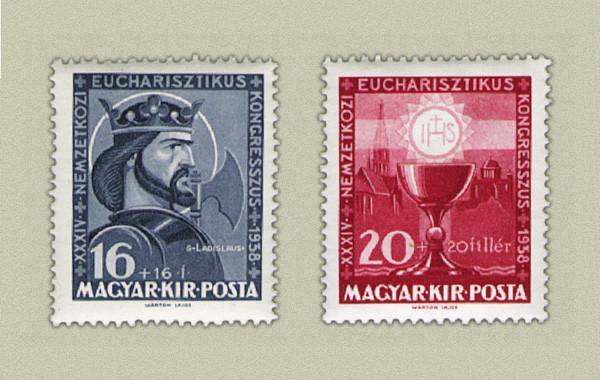 #B92-B93 Hungary - Eucharistic Congress (MNH)