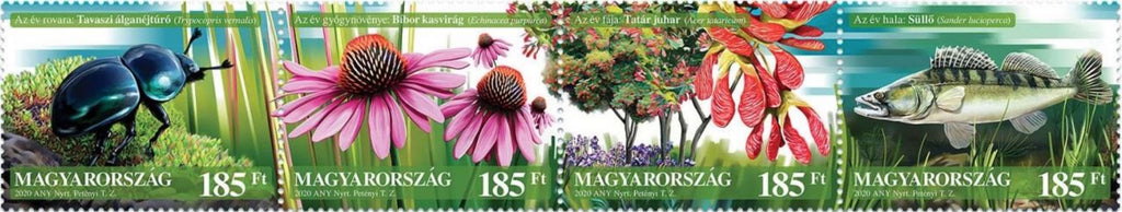 Hungary - 2020 Our Natural Assets, Set of 4 (MNH)