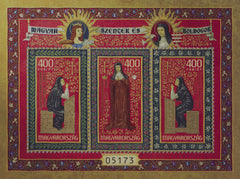 Hungary - 2020 Saints and Blesseds VIII S/S (MNH)