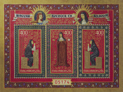 Hungary - 2020 Saints and Blesseds VIII, Red Numbering S/S  (MNH)