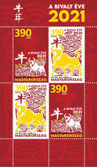 Hungary - 2021 Chinese New Year: Year of the Ox M/S (Pre-Order) (MNH)