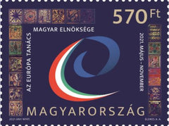 Hungary - 2021 Hungarian Presidency of the Council of Europe (Pre-Order) (MNH)