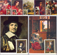 #2008-2014 Hungary - Dutch Paintings, Maximum Cards (Used)