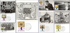 #2289-2295 Hungary - Chess, Maximum Cards (Used)