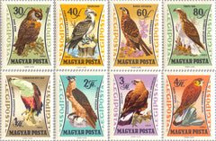 #C228-C235 Hungary - Birds In Natural Colors (MNH)