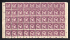 #104 Hungary - 1916 Queen Zita, Block of 50 (MNH)