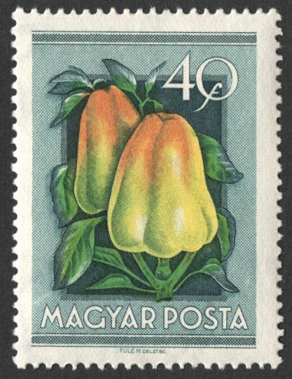 #1088-1095 Hungary - Fruit in Natural Colors (MNH)