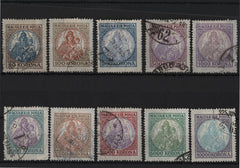 #378-387 Hungary - Madonna and Child (Used)