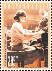 #4308 Hungary - Annie Fischer, Pianist, Single (MNH)