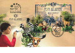 #4400 Hungary - 2016, 150th Anniv. of the Budapest Zoo and Botanical Garden, FDC