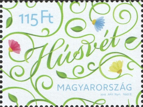 #4377 Hungary - Easter (MNH)