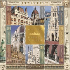 #4392 Hungary - 2016 House of Parliament V. Façade M/S (MNH)