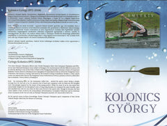 Hungary - 2016 György Kolonics, Commemorative Sheet in Folder (MNH)