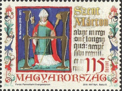 #4379 Hungary - 2016 St. Martin of Tours (MNH)