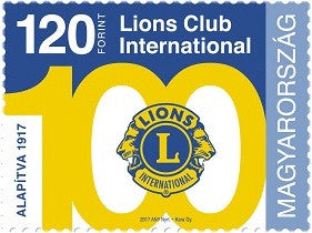 #4418 Hungary - Lions Club International, 100 Years of Service (MNH)