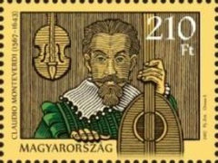 #4416 Hungary - 2017, 450th Anniv. of the Birth of Claudio Monteverdi, Single (MNH)