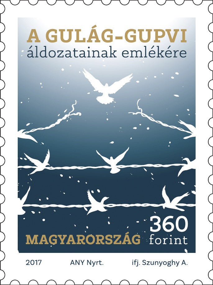 #4413 Hungary - 2017 Remembrance of the GULAG-GUPVI Victims (MNH)