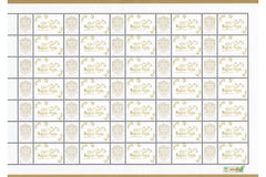 Hungary - 2017 Very Own Stamp: Magyar Posta is 150 Years Old, Sheet of 35 (MNH)