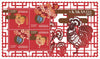 Hungary - 2014-2017 Chinese Lunar Year Pack (MNH)