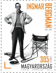 Hungary - 2018 Centenary of the Birth of Ingmar Bergman (MNH)