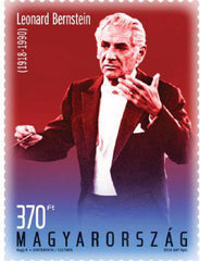 #4460 Hungary - Cent. of the Birth of Leonard Bernstein (MNH)