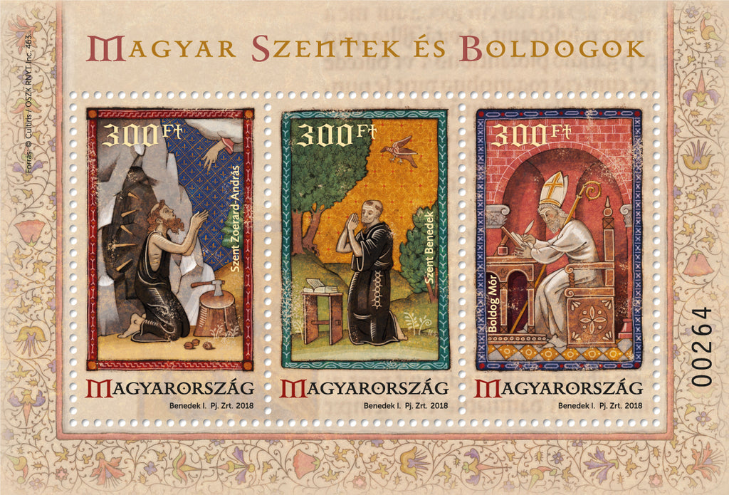 Hungary - 2018 Saints and Blesseds VI S/S (MNH)