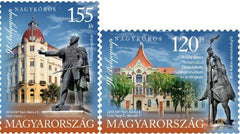 #4482-4483 Hungary - 91st Stamp Day, Set of 2 (MNH)