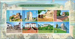 Hungary - 2019 Castles in Hungary M/S (MNH)