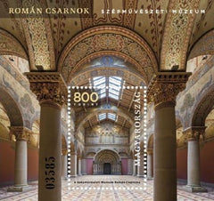 Hungary - 2019 Romanesque Hall of the Museum of Fine Arts M/S (MNH)