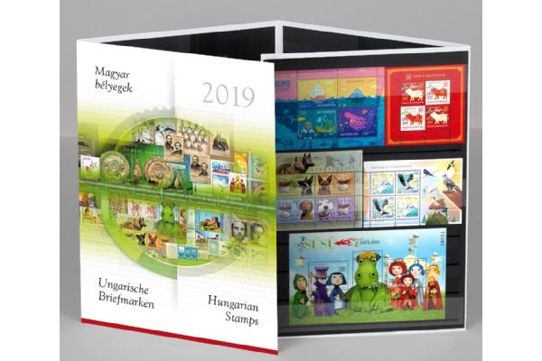2019 Hungary Year Set (MNH)