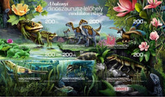 Hungary - 2020 Dinosaurs, Imperf S/S (MNH)