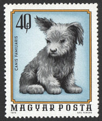 #2323-2329 Hungary - Young Animals (MNH)