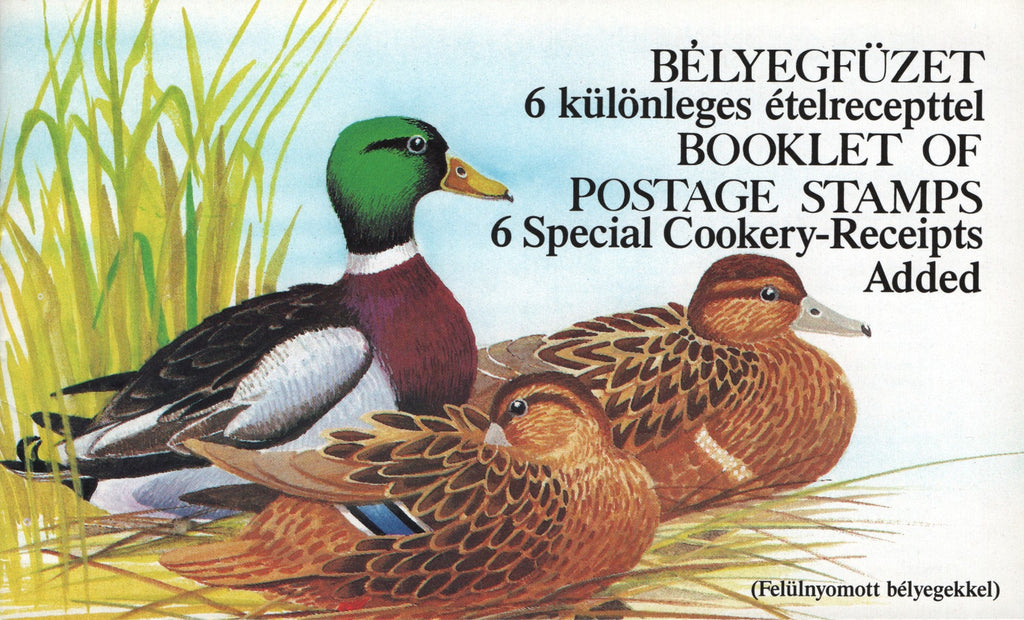#3138a Hungary - Ducks, Complete Booklet (English) (MNH)