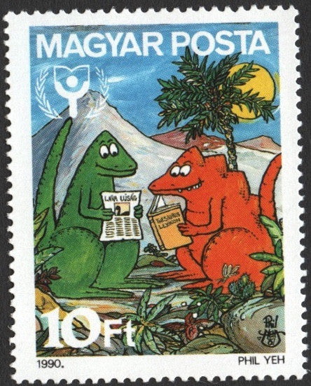 #3269 Hungary - Int'l Literacy Year (MNH)