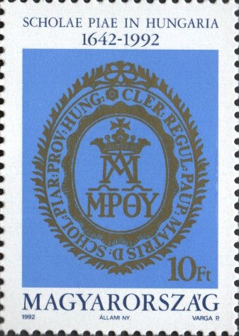 #3332 Hungary - 350th Anniv. of Piarist Order (MNH)