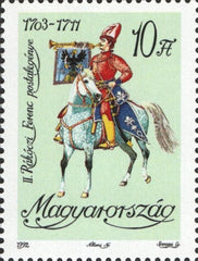#3368-3369 Hungary - Postal Uniforms (MNH)