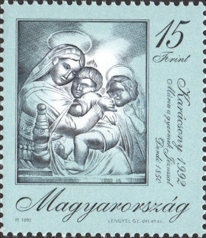 #3370 Hungary - Christmas '92 (MNH)