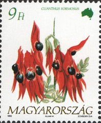 #3371-3374 Hungary - Flowers of the Continents Type of 1990 (MNH)