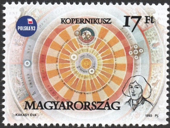 #3390 Hungary - Heliocentric Solar System (MNH)