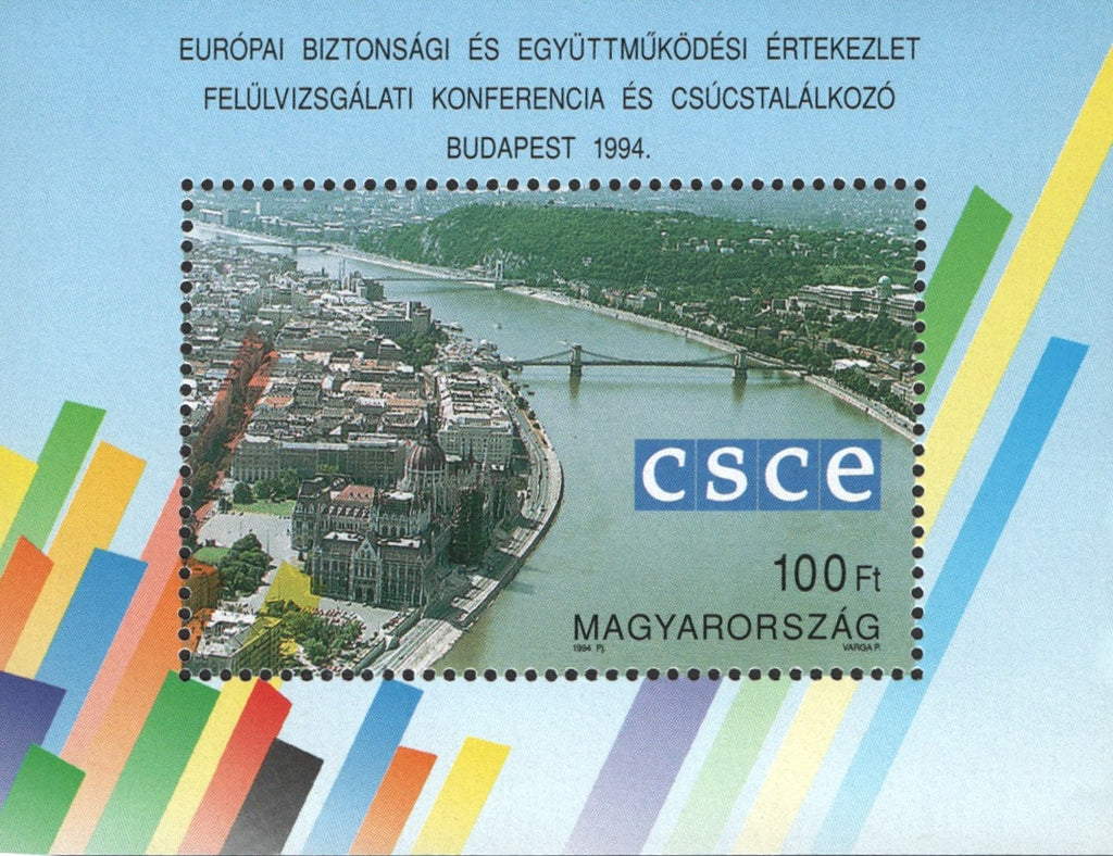 #3479 Hungary - European Security Conference S/S (MNH)