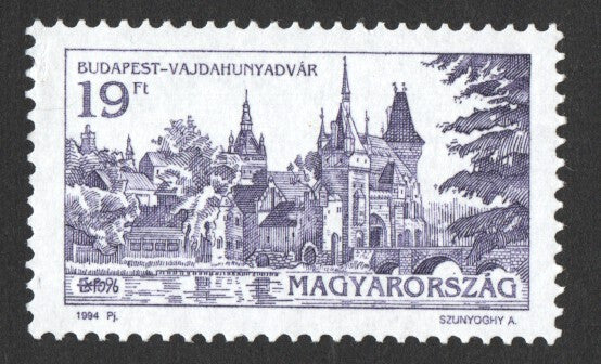 #3481-3483 Hungary - Buildings in Budapest (MNH)