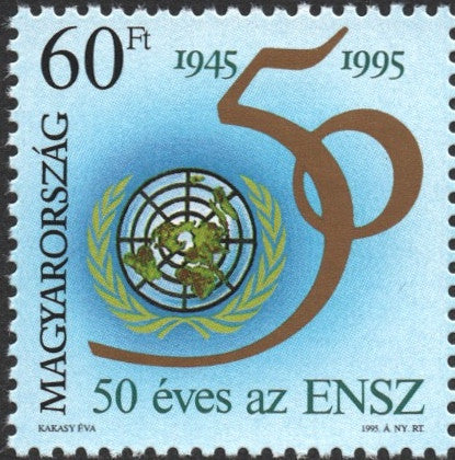 #3511 Hungary - UN, 50th Anniversary (MNH)
