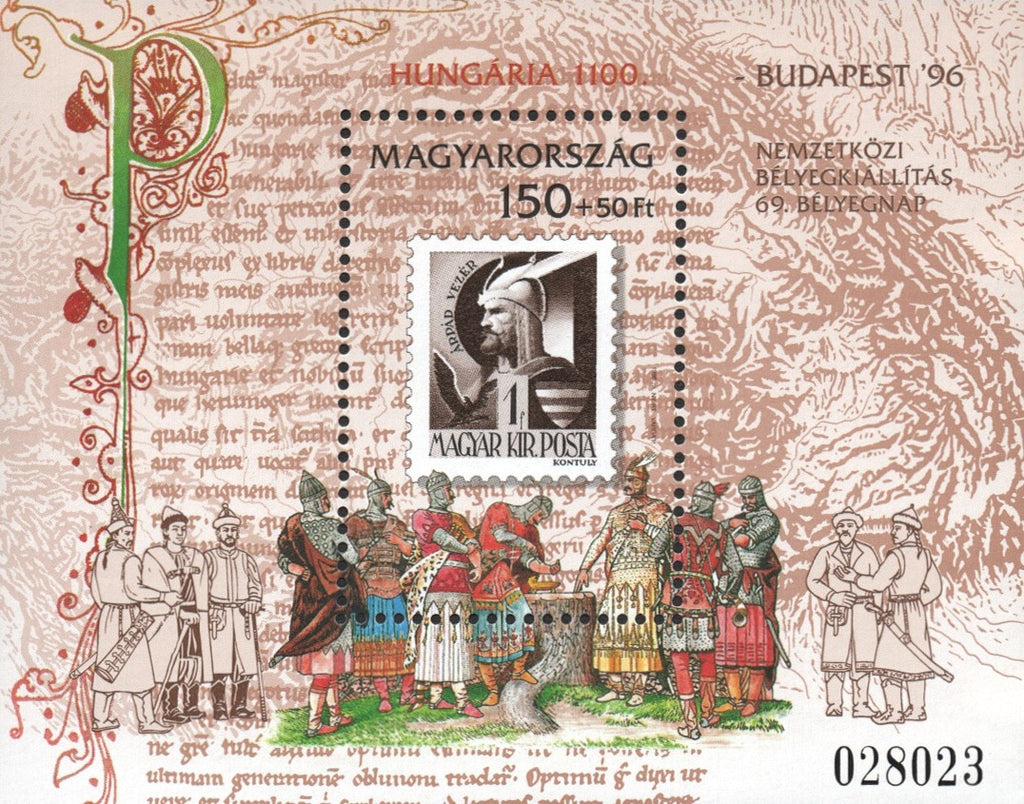 #3545 Hungary - Stamp Day S/S (MNH)
