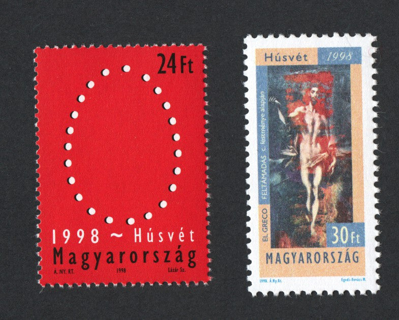 #3597-3598 Hungary - 1998 Easter (MNH)