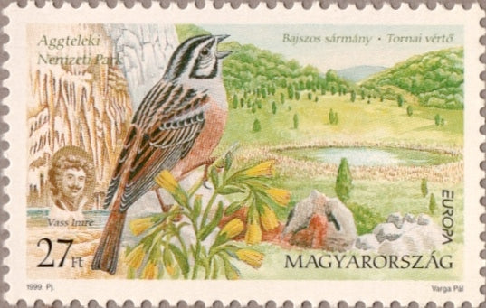 #3654-3655 Hungary - 1999 Europa:  Nature Reserves and Parks (MNH)