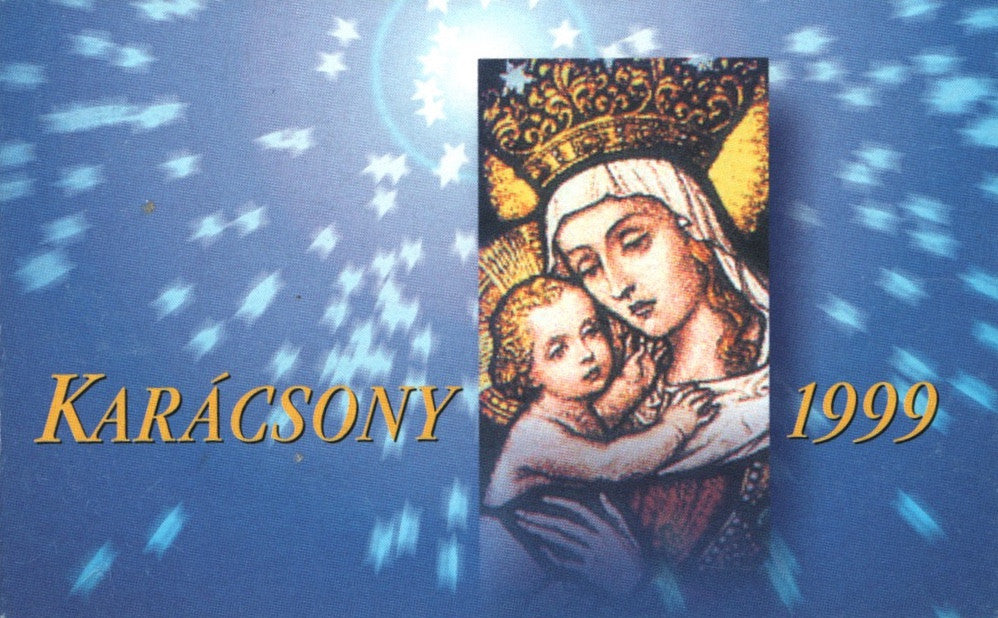 #3678 Hungary - 1999 Madonna and Child, by Miksa Róth, Complete Booklet (MNH)