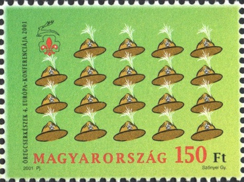 #3766 Hungary - 2001 Intl. Scouting Conference (MNH)