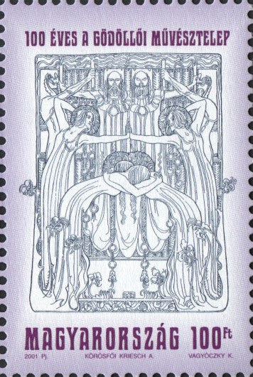 #3768-3769 Hungary - Artist's Colony, Gödöllő and Fészek Arts Club (MNH)