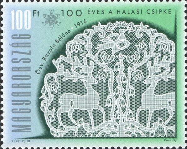 #3794-3796 Hungary - Halas Lace, Cent. (MNH)